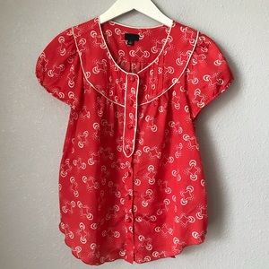 Anna Sui for Target Retro Blouse